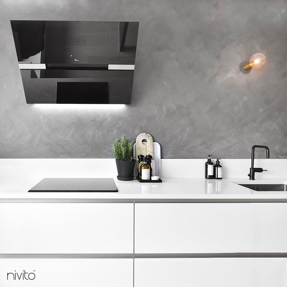 Svart Vattenkran - Nivito 3-RH-320
