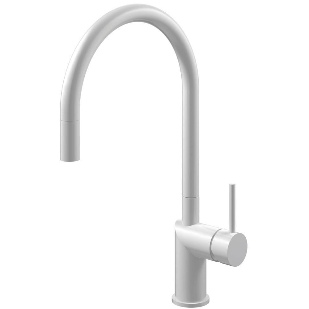Vit Vattenkran Utdragbart munstycke - Nivito RH-130-EX