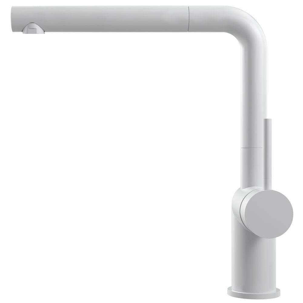 Vit Köksblandare Utdragbart munstycke - Nivito RH-630-EX