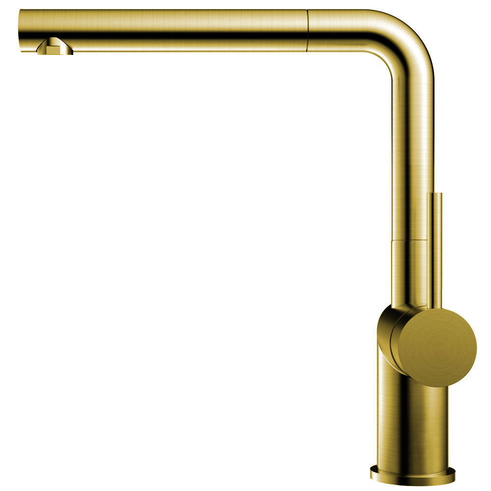 Mässing/Guld Blandare Kök Utdragbart munstycke - Nivito RH-640-EX