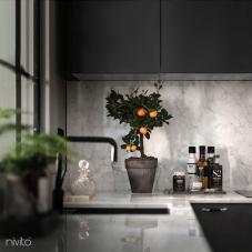 Svart Köksblandare - Nivito 10-RH-320