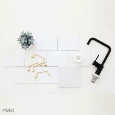 Svart Köksblandare - Nivito 19-RH-320