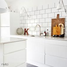 Rostfri Köksblandare - Nivito 2-RH-100