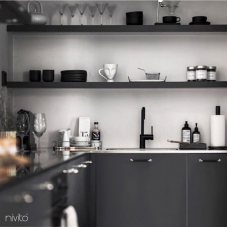 Svart Köksblandare - Nivito 21-RH-320