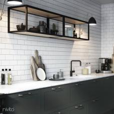 Svart Köksblandare - Nivito 22-RH-320