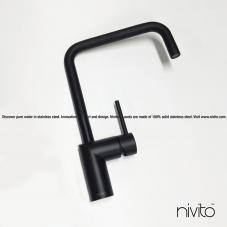 Svart Köksblandare - Nivito 23-RH-320