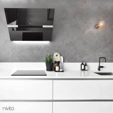 Svart Köksblandare - Nivito 3-RH-320