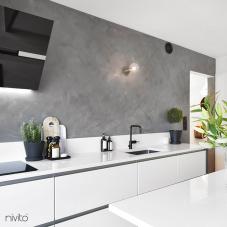 Svart Köksblandare - Nivito 4-RH-320