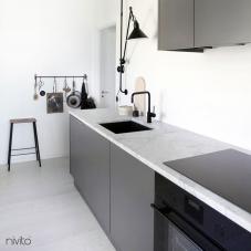Svart Köksblandare - Nivito 5-RH-320