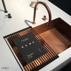 Koppar Diskbänk - Nivito 1-CU-700-BC