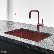 Koppar Köksblandare - Nivito 1-RH-350
