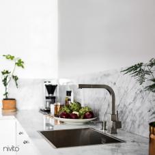Rostfri Köksblandare - Nivito 1-SP-300