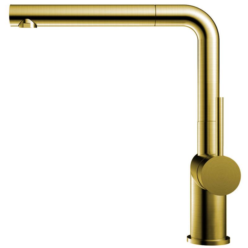 Mässing/Guld Köksblandare Utdragbart munstycke - Nivito RH-640-EX