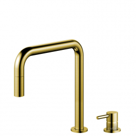 Mässing/Guld Utdragbart munstycke / Sepererad Kropp/Pip - Nivito RH-340-VI