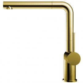 Mässing/Guld Kökskran Utdragbart munstycke - Nivito RH-640-EX